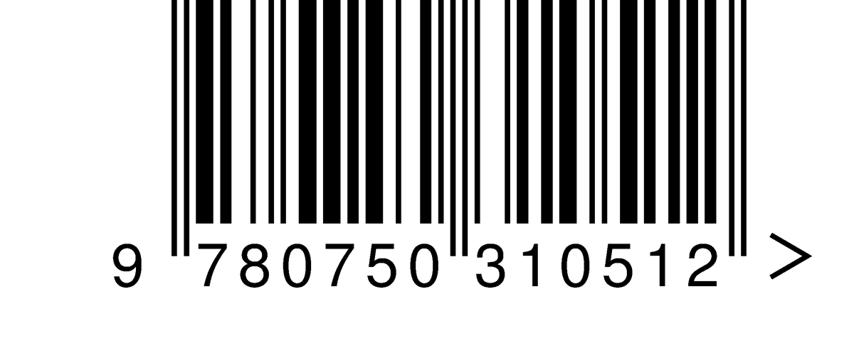 Штрих-код на открытке