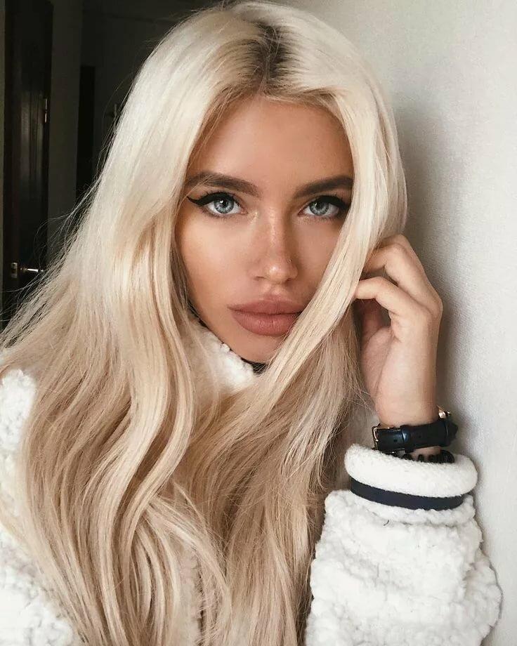 Цвет волос блондинок картинки