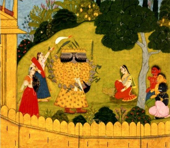 Махабхарата. Рамаяна (Библиотека всемирной литературы) скачать djvu, скачать fb2
