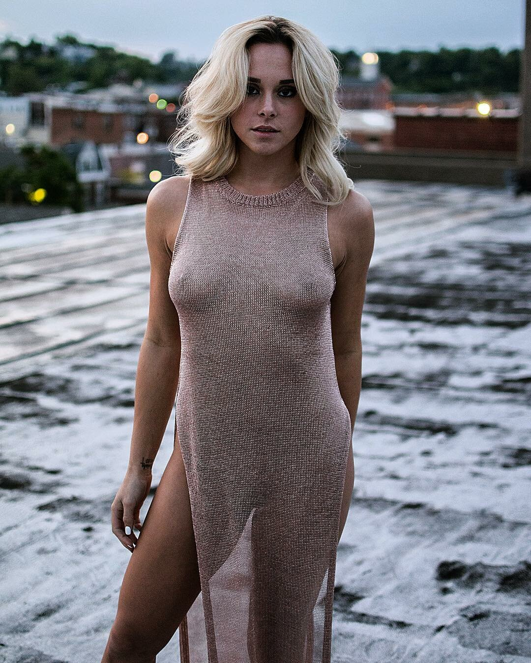 Nude women in see through clothes #6
