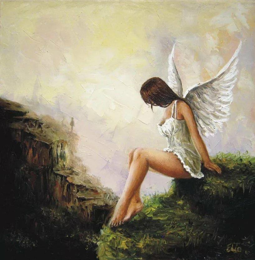ангел на берегу картинка территорий описанных баз