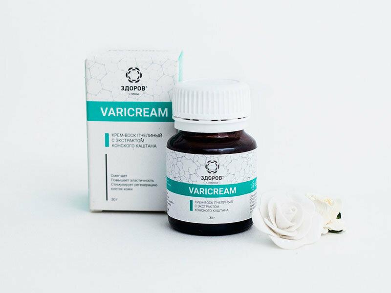 VARICREAM от варикоза в Новороссийске
