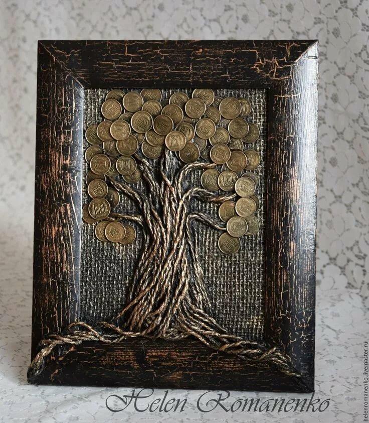 панно дерево фото
