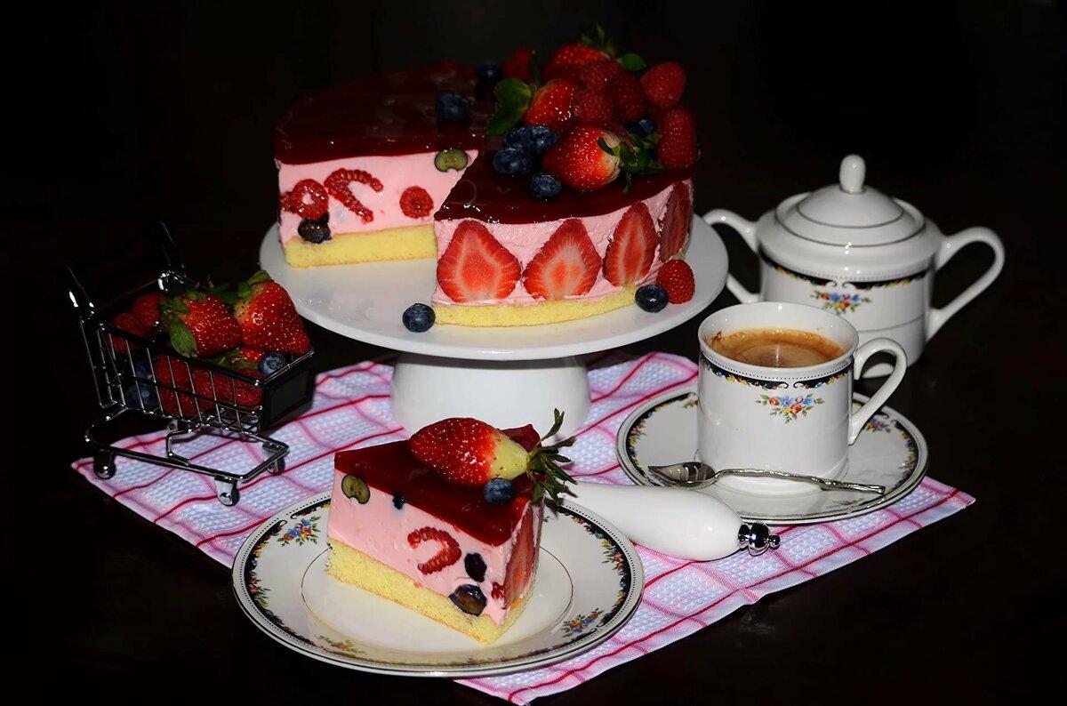 Торт с кофе красивые картинки