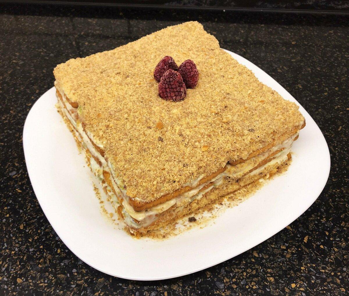 торты с печенья рецепт и фото совсем