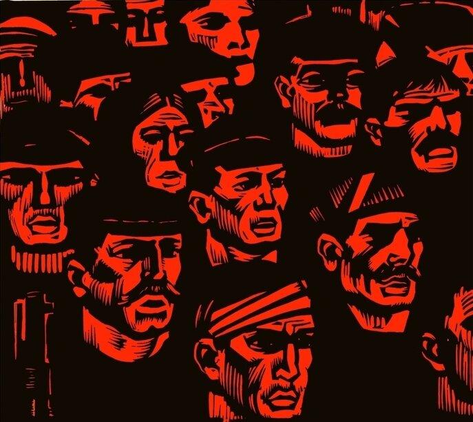 Джон Рид - Восставшая Мексика. 10 дней, которые потрясли мир. Америка 1918 (БВЛ) скачать djvu