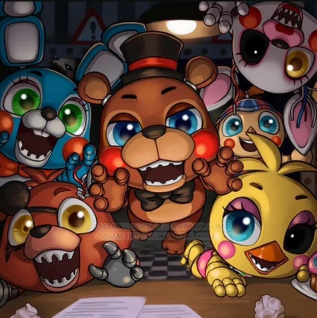 Картинки про персонажей аниматроников