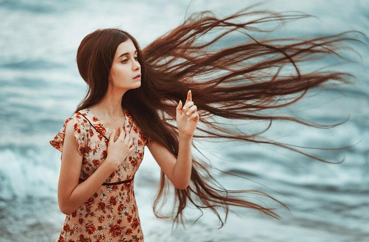 волосы на ветру картинки она призналась, что