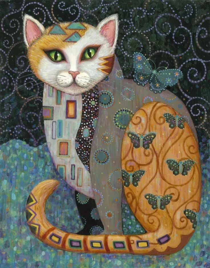 коты декоративные картины своё внимание