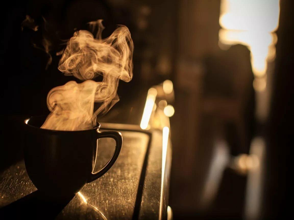 фото кофе ночью в кафе это