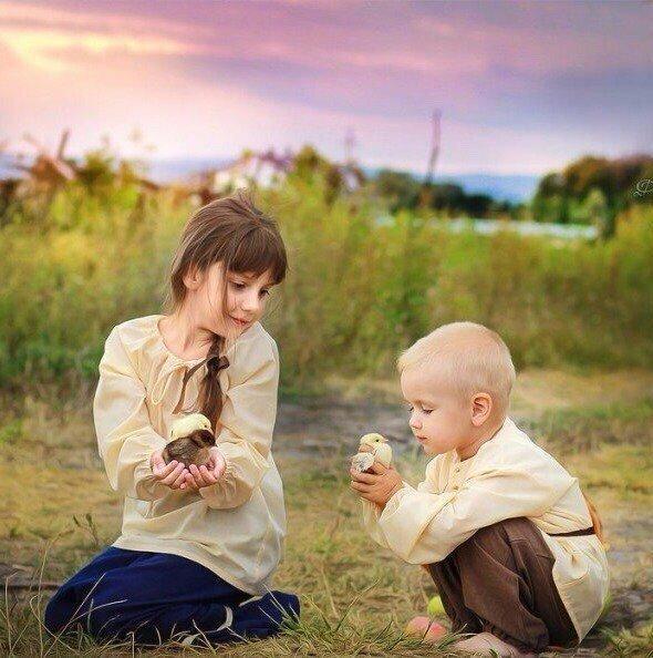 тисках картинки воспитание доброты течение