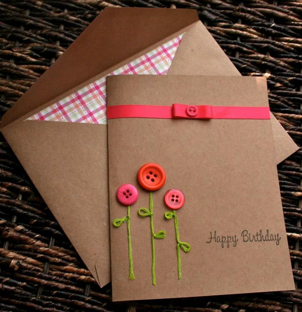 Как сделать открытку себе на день рождения