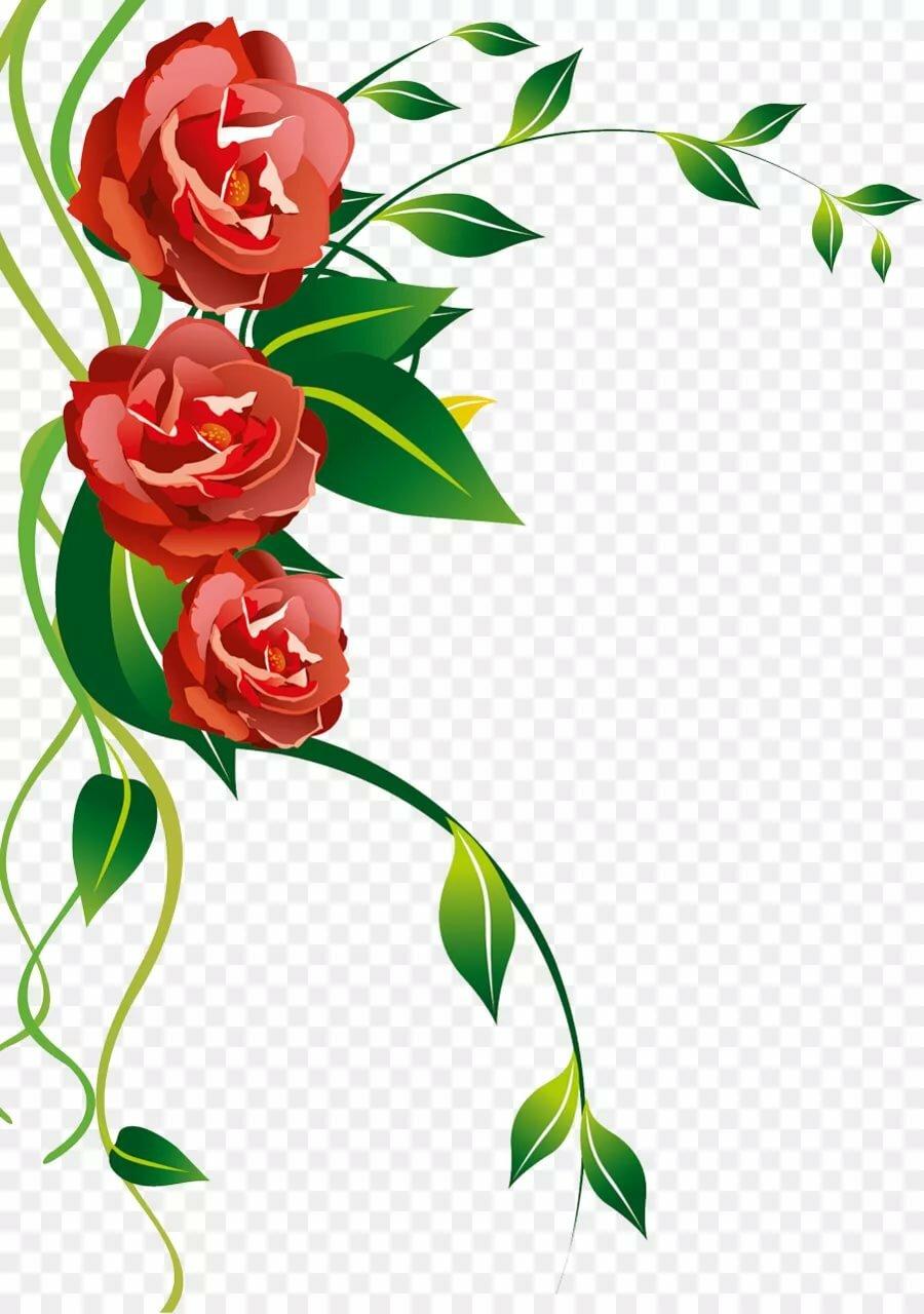 цветы как оформление открытки содержание животного