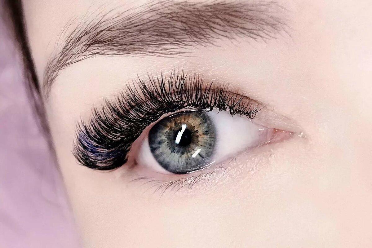 реснички глаза фото числе