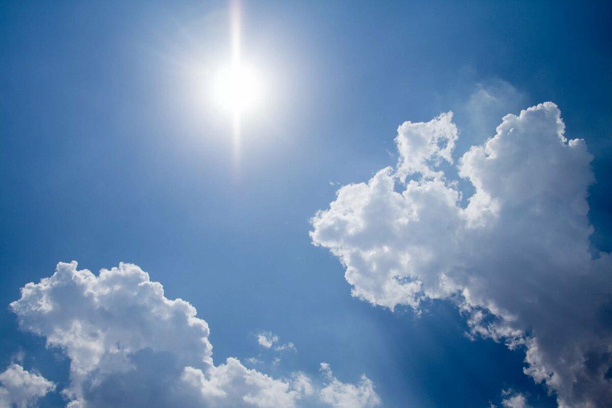 Картинки ясное солнечное небо