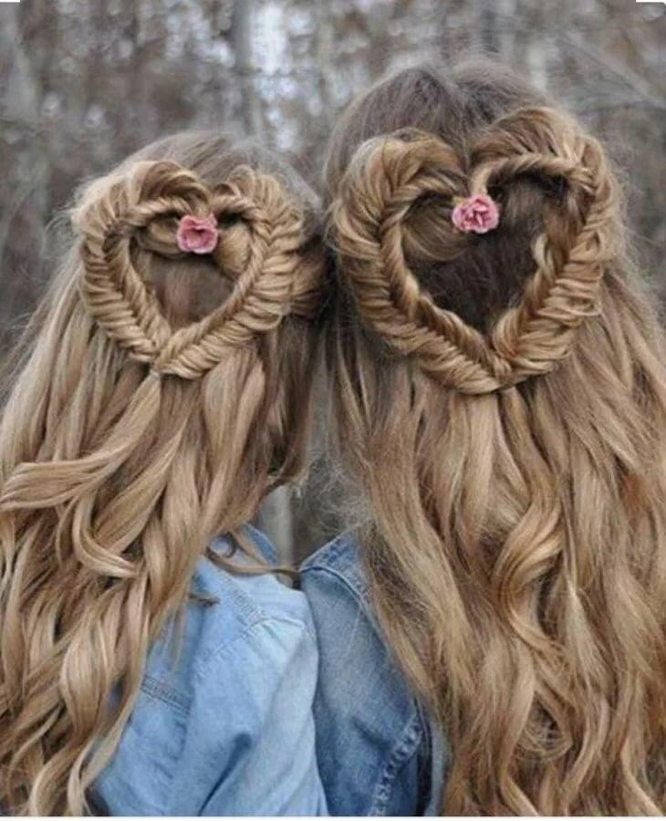 данным картинки подруг для длинных волос драгоценных