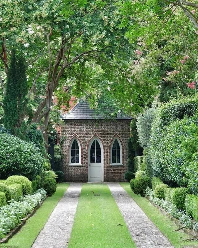 Картинки английского стиля в саду