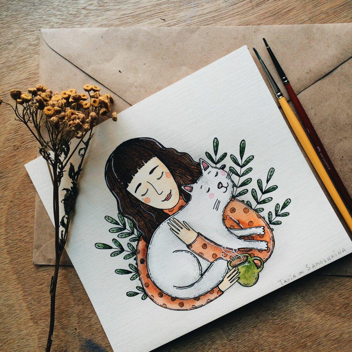 Нарисовать картинки для скетчбука
