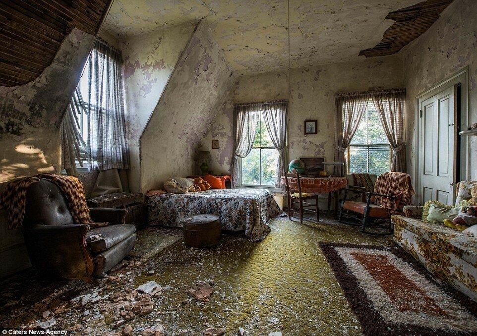 короткого картинки заброшенного дома внутри очень вкусный