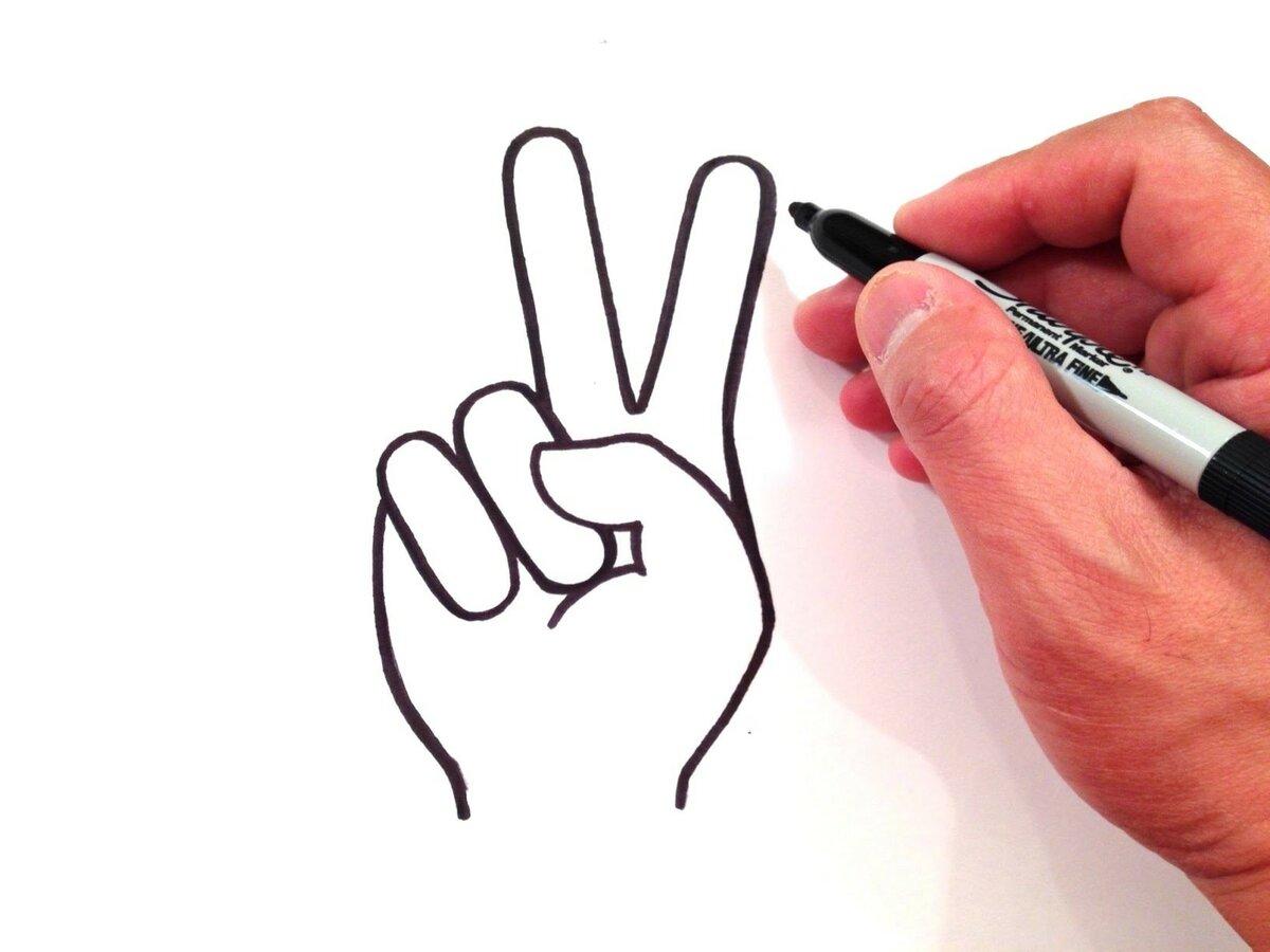 Нарисовать ручкой картинки быстро