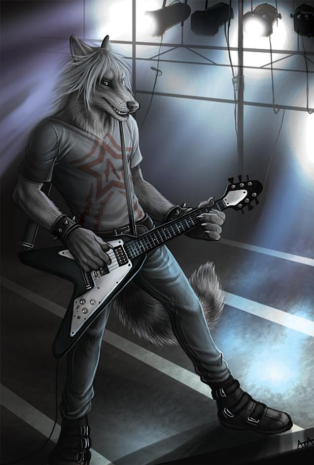 размахе картинки волк рокер стали интересоваться