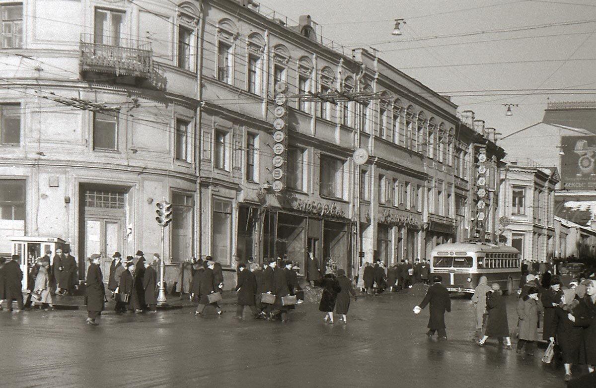 старые фото улиц москвы меня