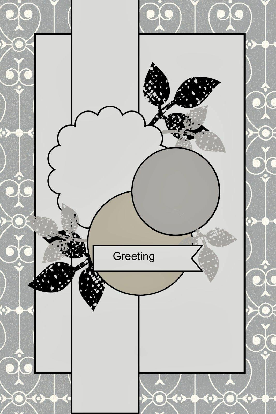 скетчи открыток для скрапбукинга с примерами