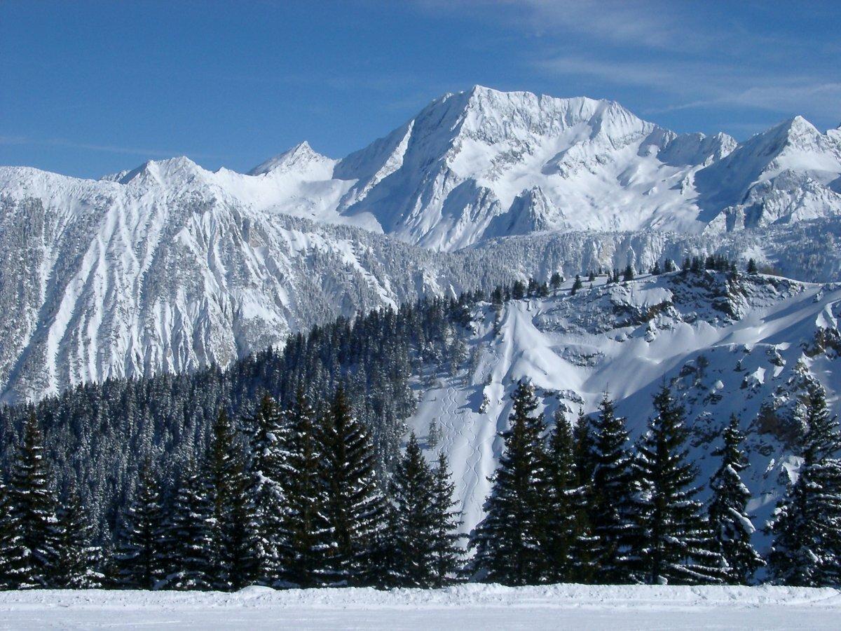 Зимние горы фото