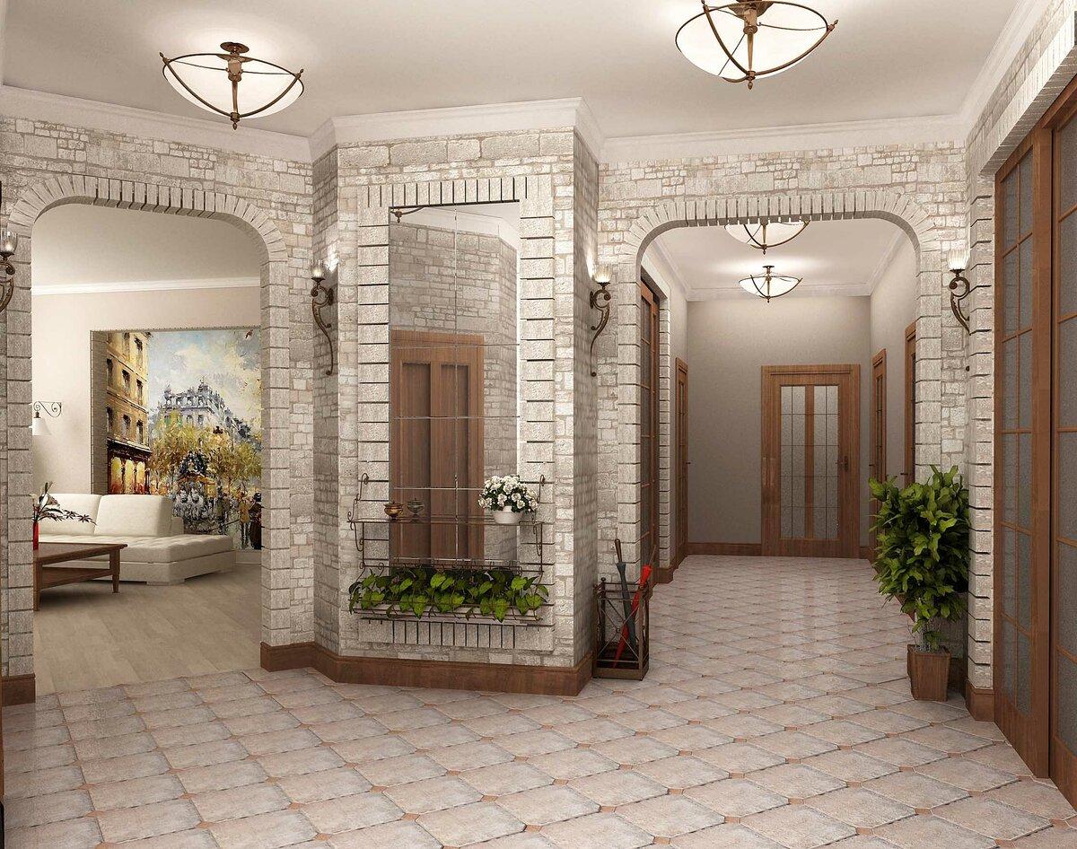 Дизайн холла в картинкам дальнейшем