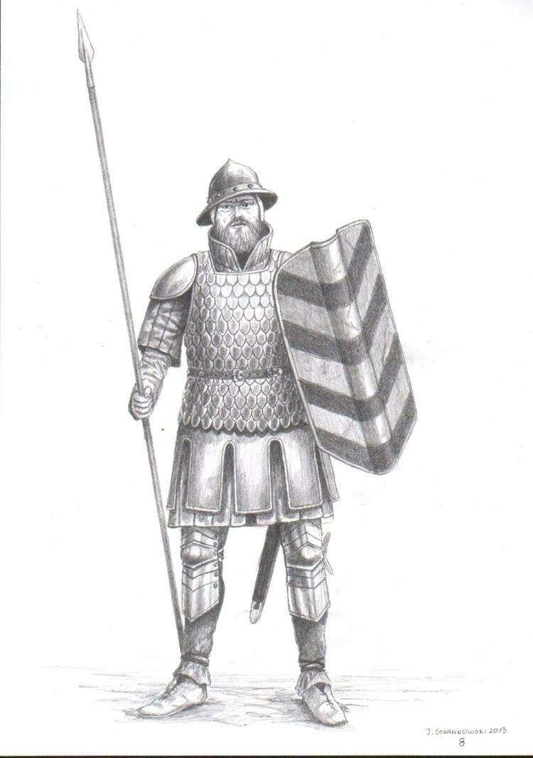 Воины великого княжества литовского картинки