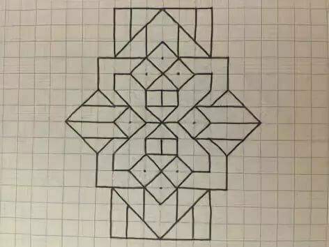 Кресты рисунки по клеткам
