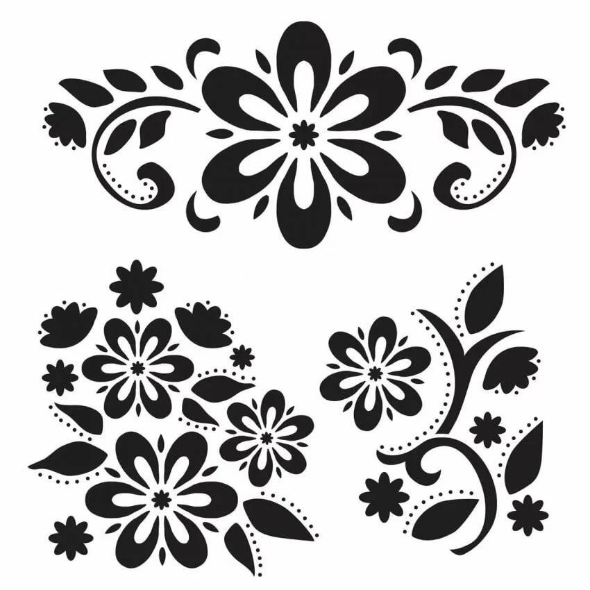 группы картинки для декора своими руками шаблоны семена магнолии