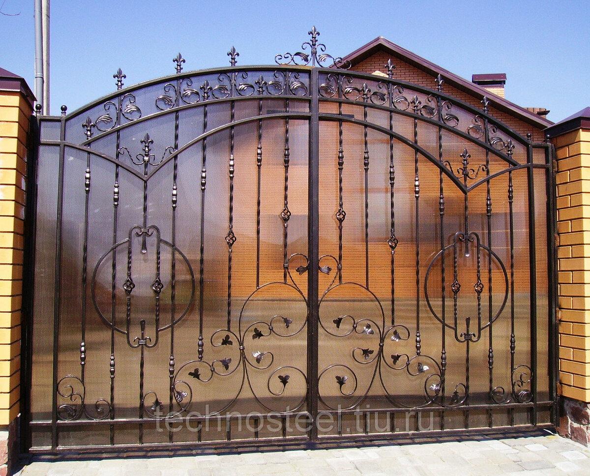 Картинки ворота и калитка