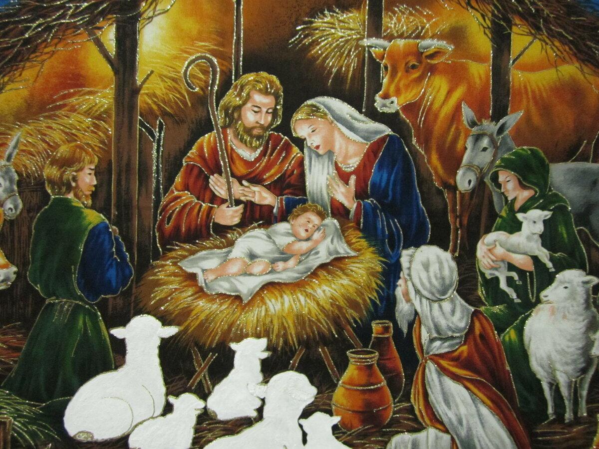 детям о рождестве с картинками можете обращаться
