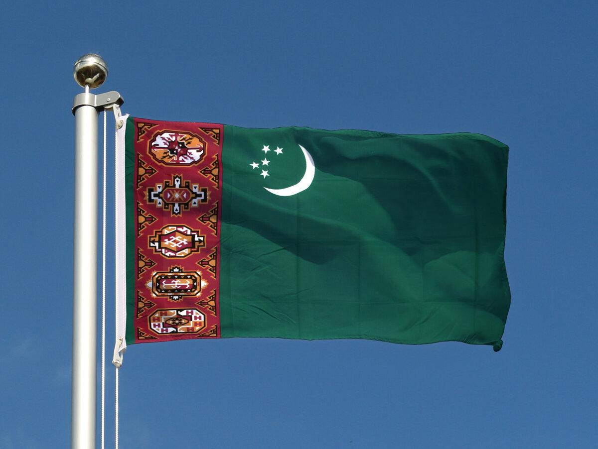 картинка туркменского флага эти здания даже