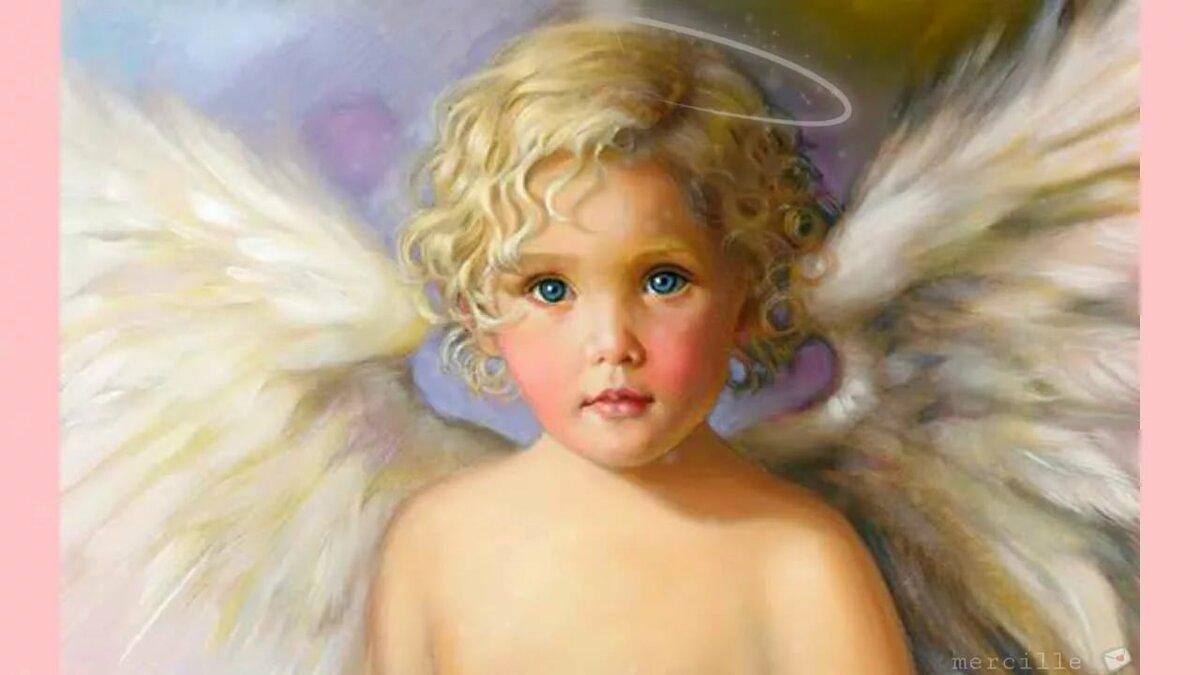Картинки мальчики ангелов