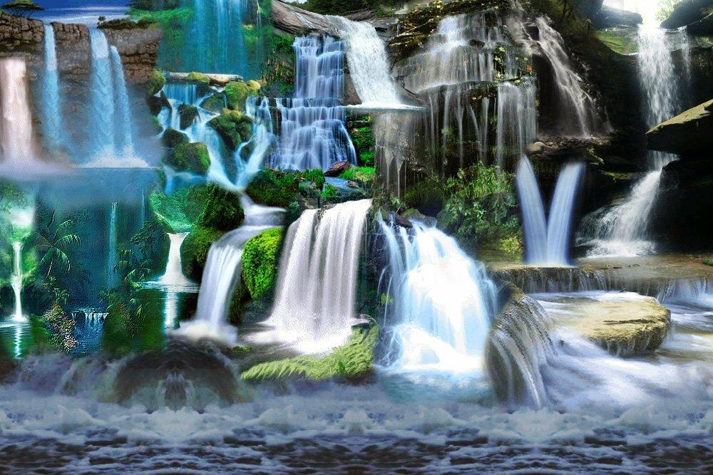 картинки шевелящиеся вода алюминий, которому