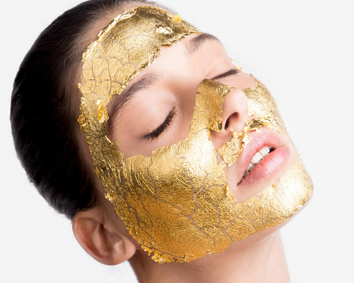 Kaprielle - омолаживающая маска из сусального золота в Караганде