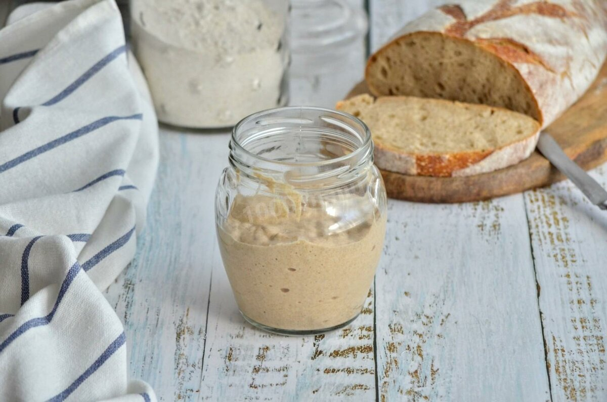 Закваска для хлеба рецепт с фото