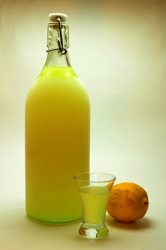 лимончелло в домашних условиях фото