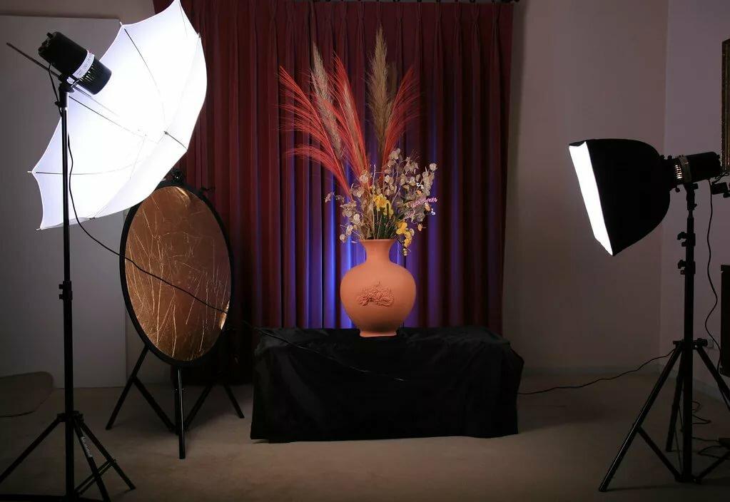Осветить предмет для фотосъемки
