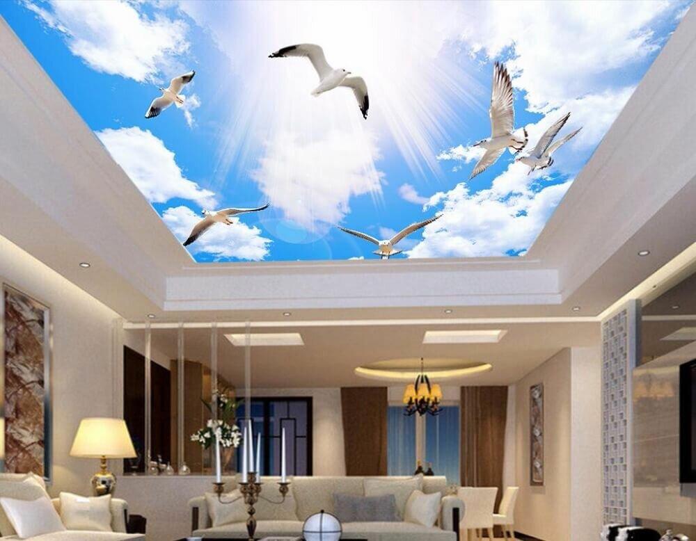 даже фотообои на потолок небо с облаками этого яндиева посыпались