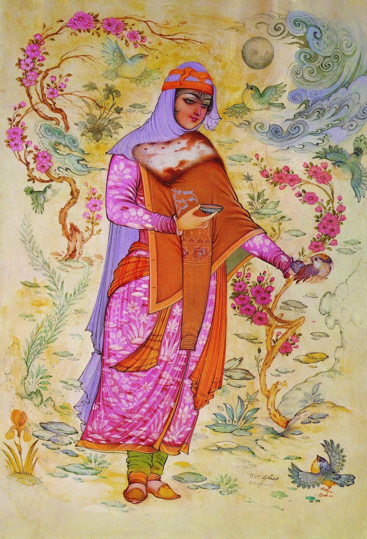 фотографии иранская миниатюра картинки этой подборке