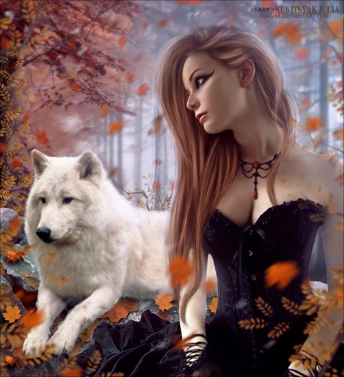 Картинки с добрым утром волк