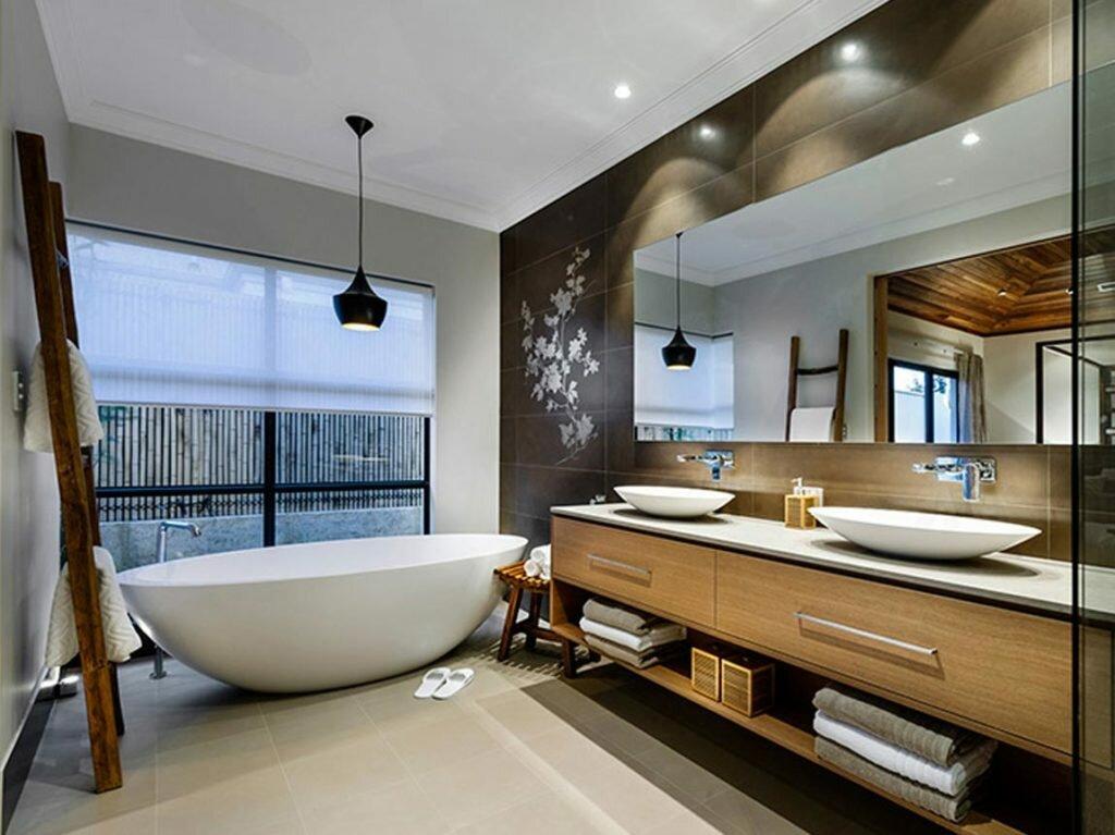 Интерьер в ванной картинки