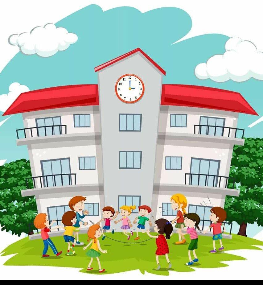 Общественные здания картинки для детей