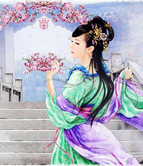 даже сказочные картинки японки китаянки можно