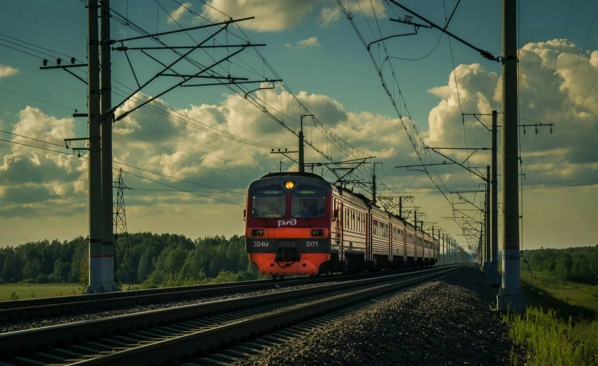 Картинки электричек россии