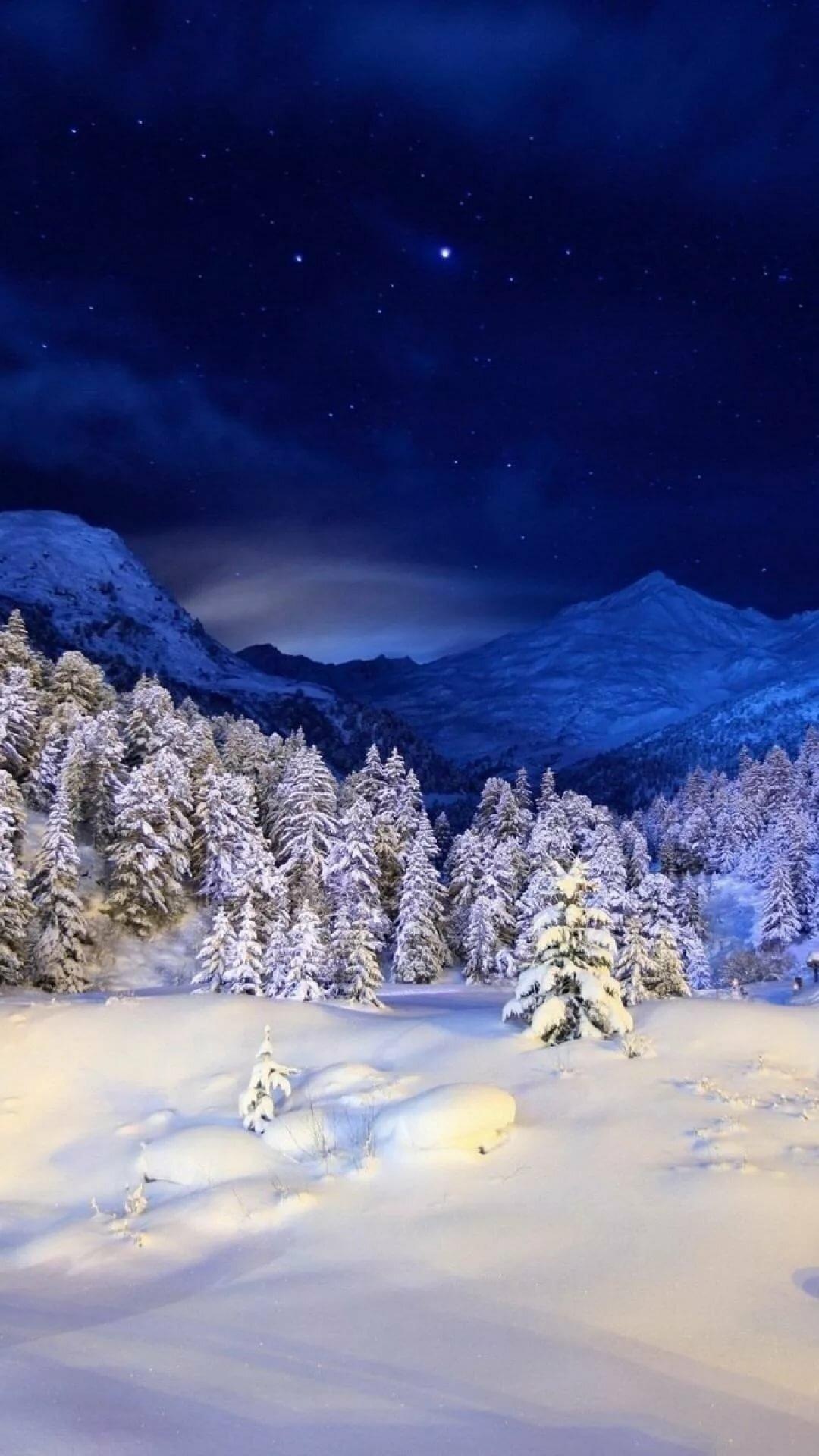 Зима Обои На Телефон Андроид Скачать Бесплатно