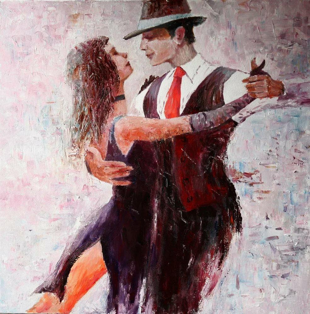 Аргентинское танго в картинах художников